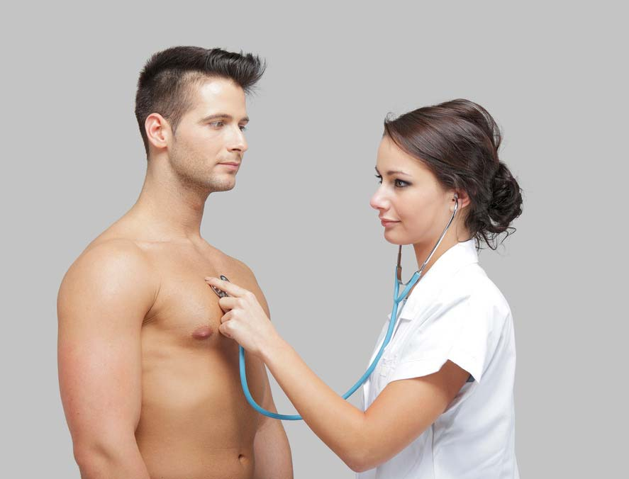 pontok a testen férfiaknál erekció céljából
