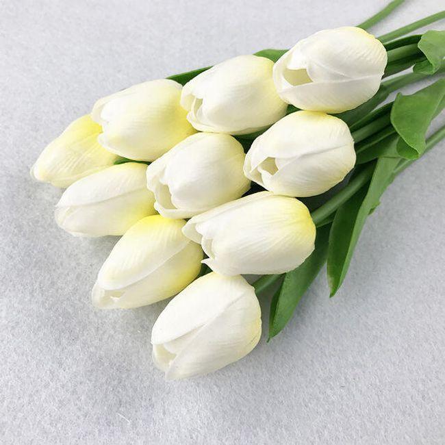 Függöny tulipán motívummal - 3 szín