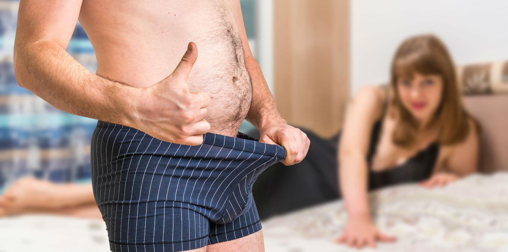 az erekció erős vagy gyenge