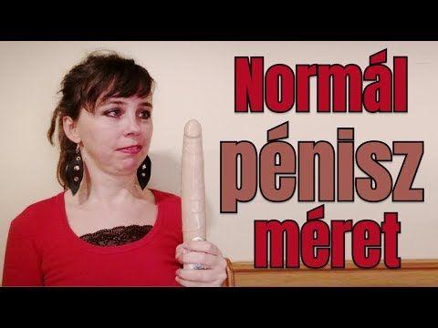 mi a normális péniszméret