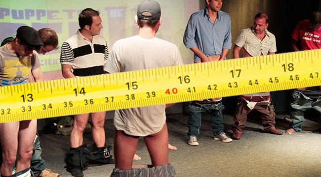 legnagyobb és legkisebb hímvessző-méret