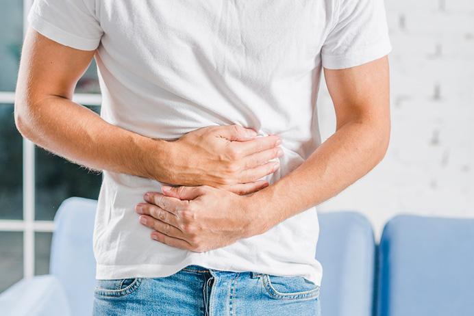 gyomorfájás az erekció során az előjáték során nincs merevedés